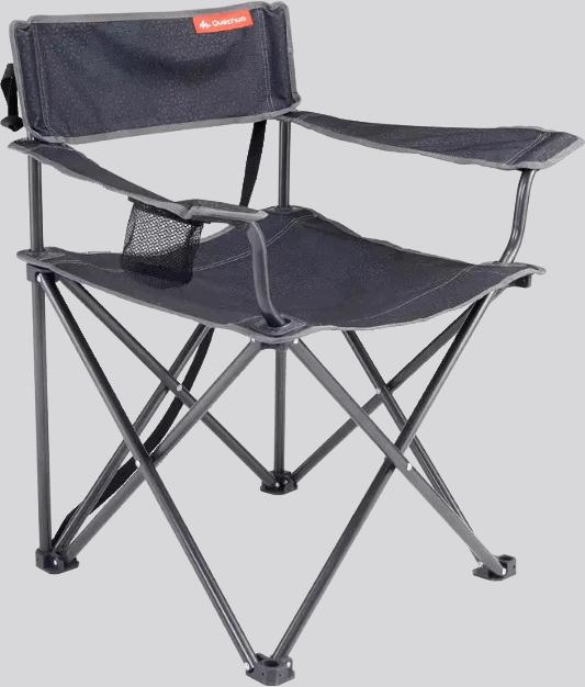 Fotele kempingowe z oparciem (2szt.)